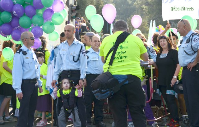 Upsee ready to go at Jerusalem marathon