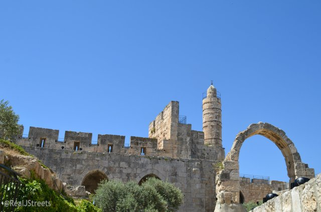 tower of David on Jerusalem Day