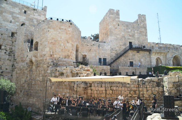 Music in Tower of David on Yom Yerushalayim