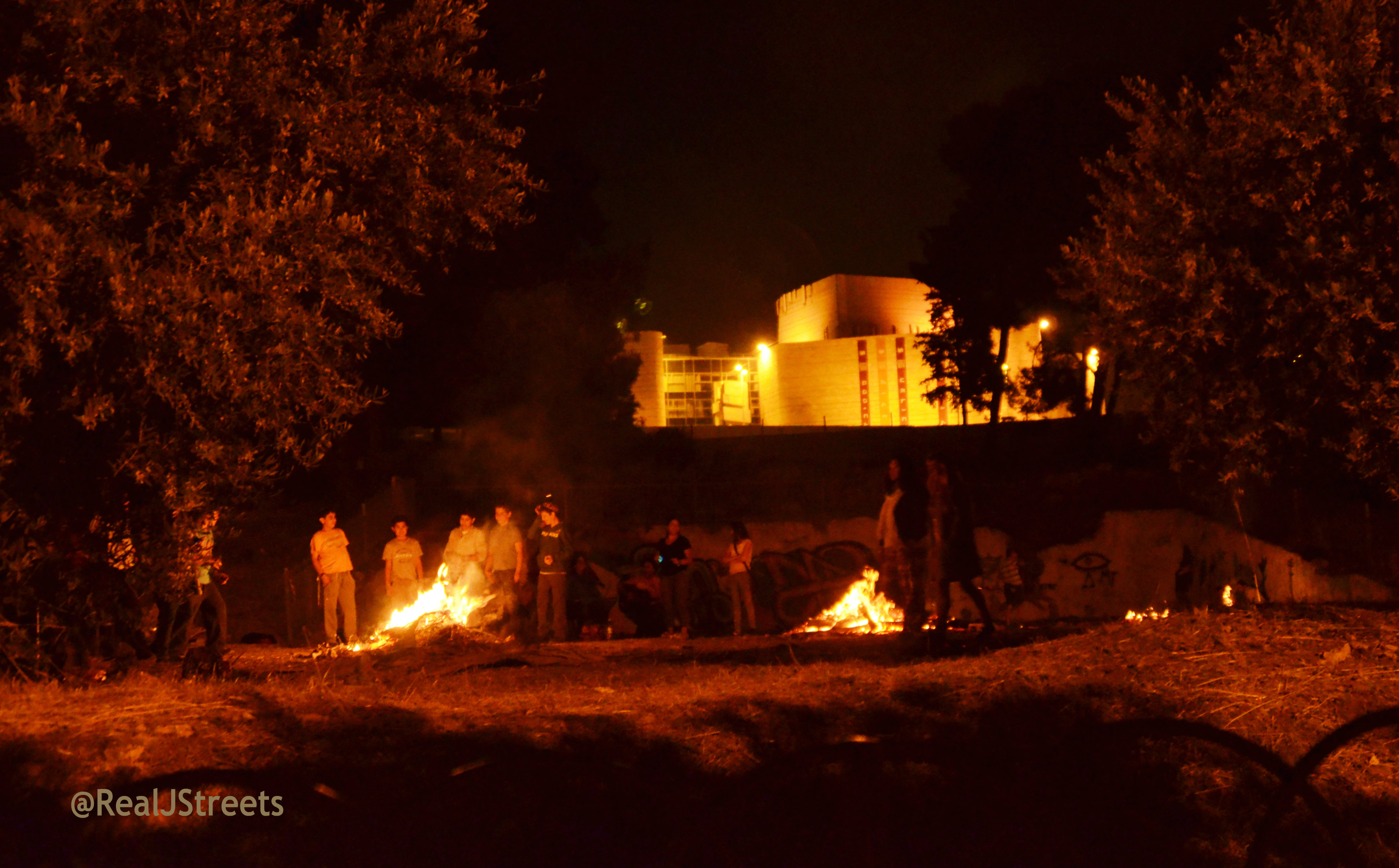 lag b omer bonfires
