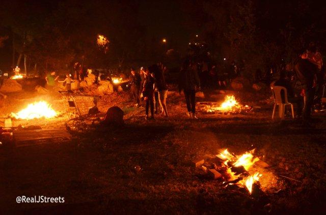 bonfires Jerusalem Lag B'Omer