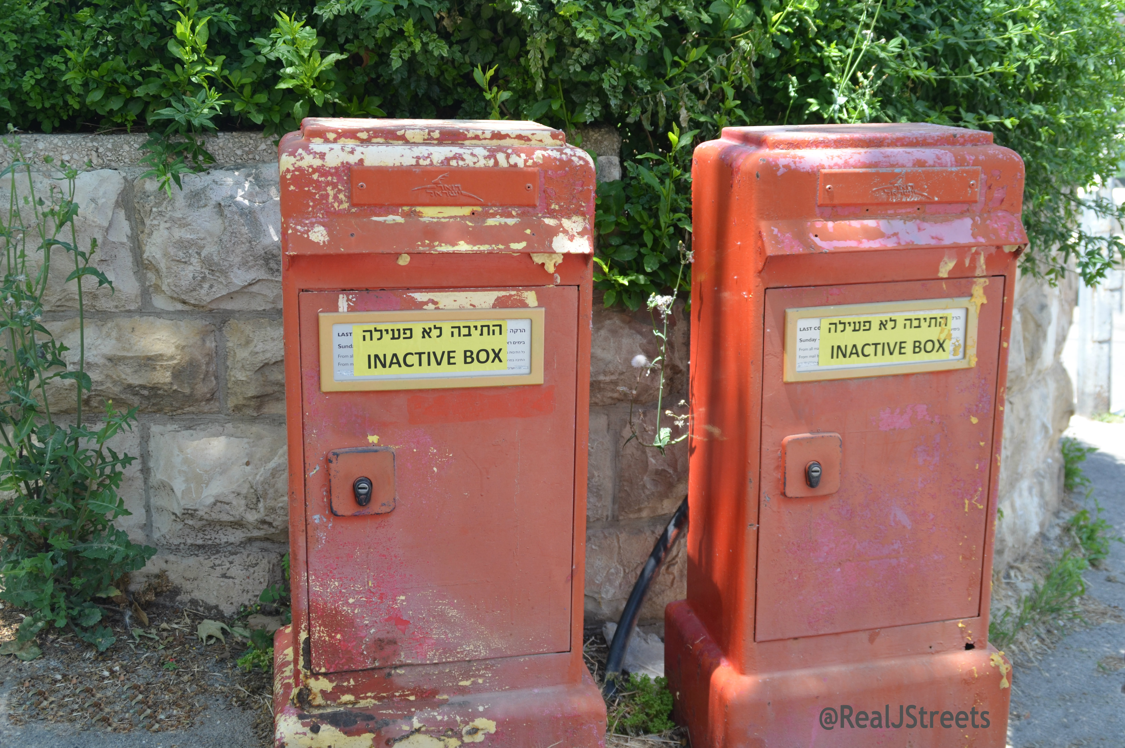 inactive mail boxes