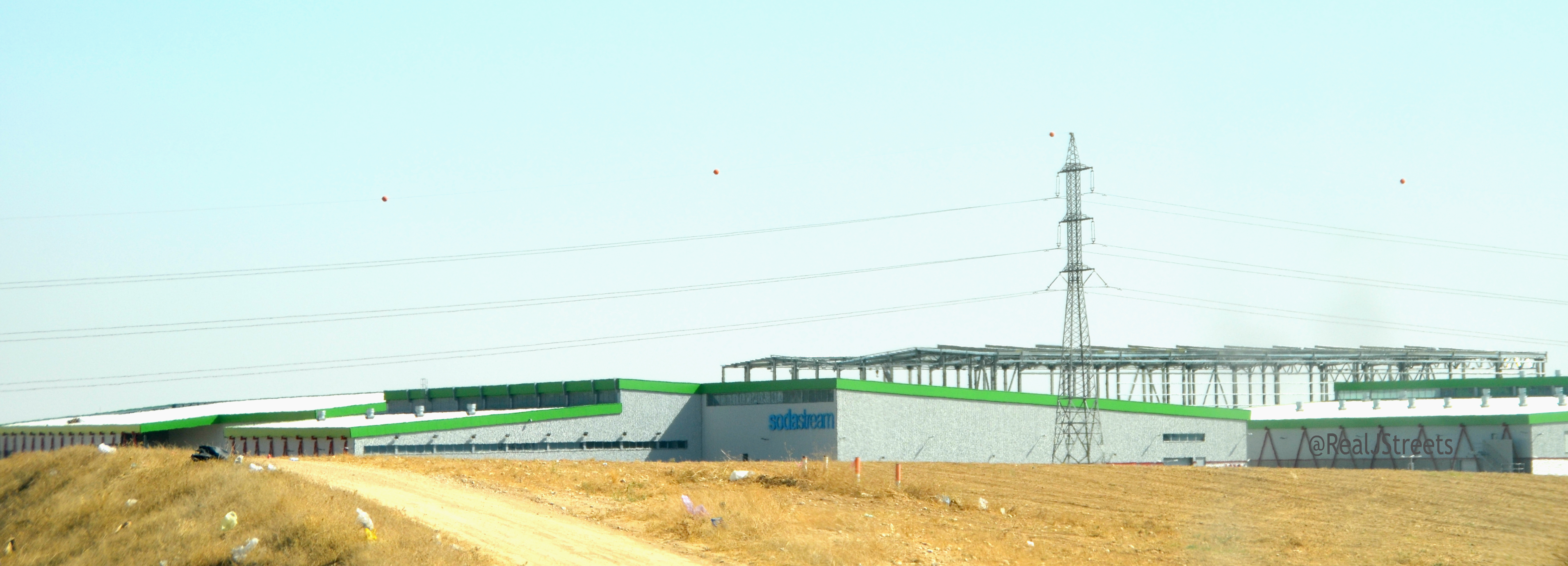 Soda Stream plant near Rahat