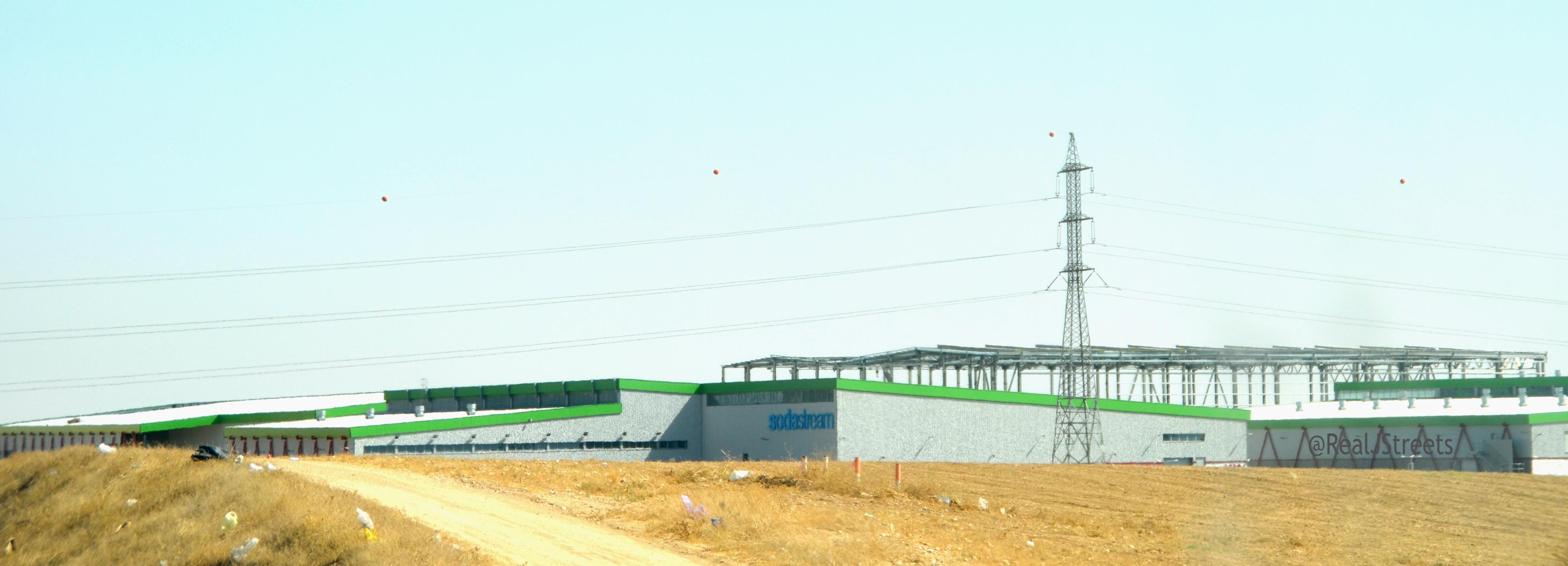 Soda Stream plant near Rahat