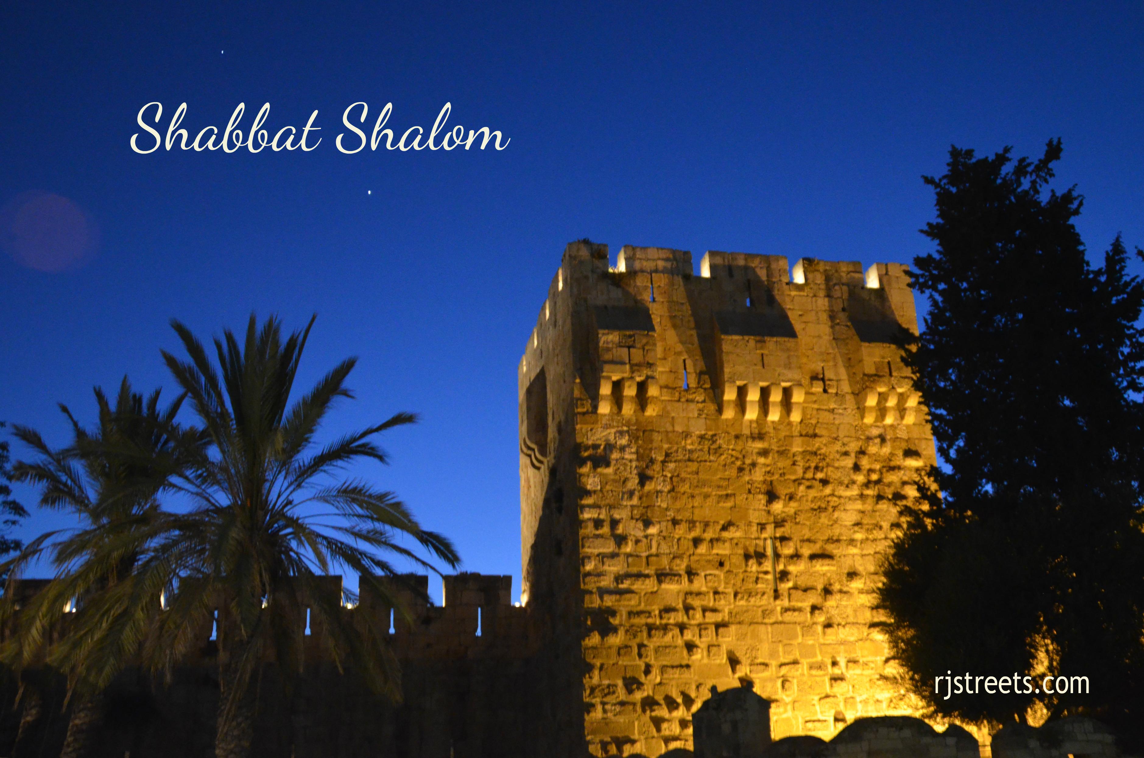 Shabbat shalom poser