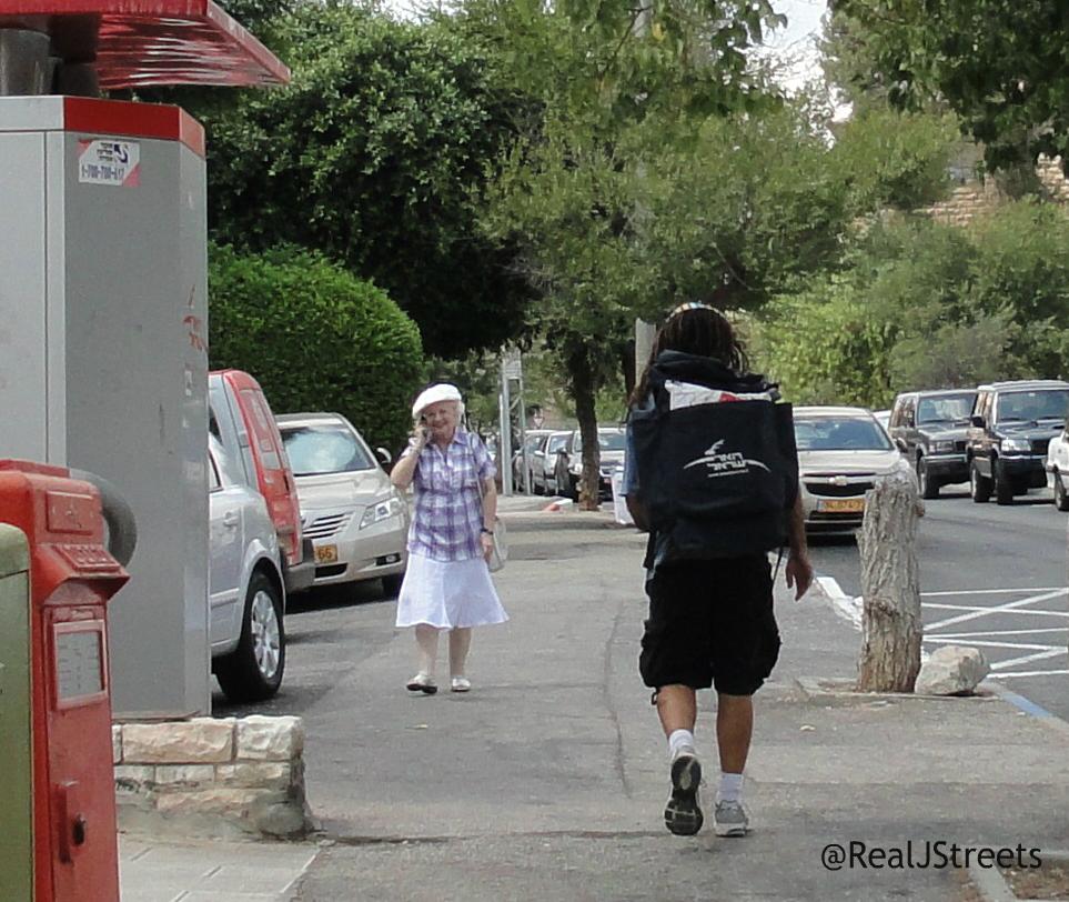 Jerusalem post man