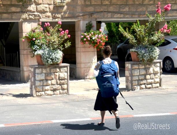 Jerusalem mail delivered by female