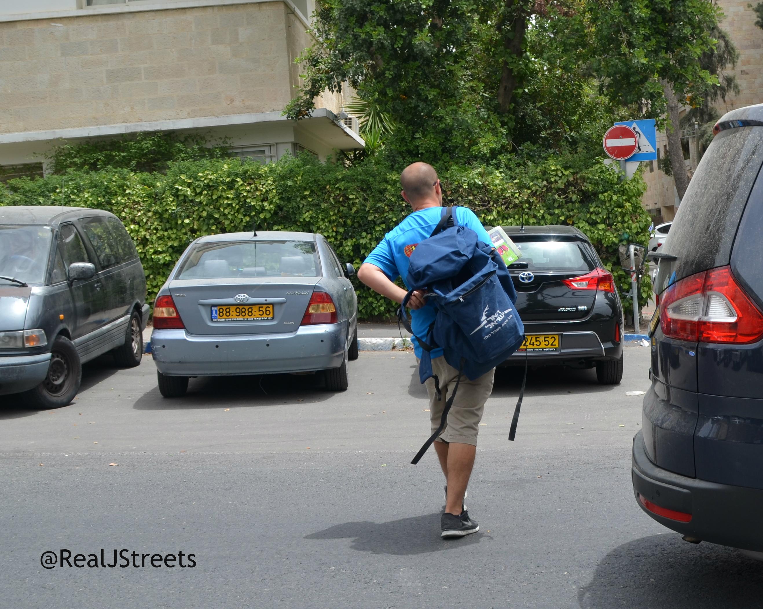 Israeli mail man