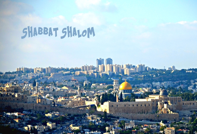 Image Old City for Shabat shalom