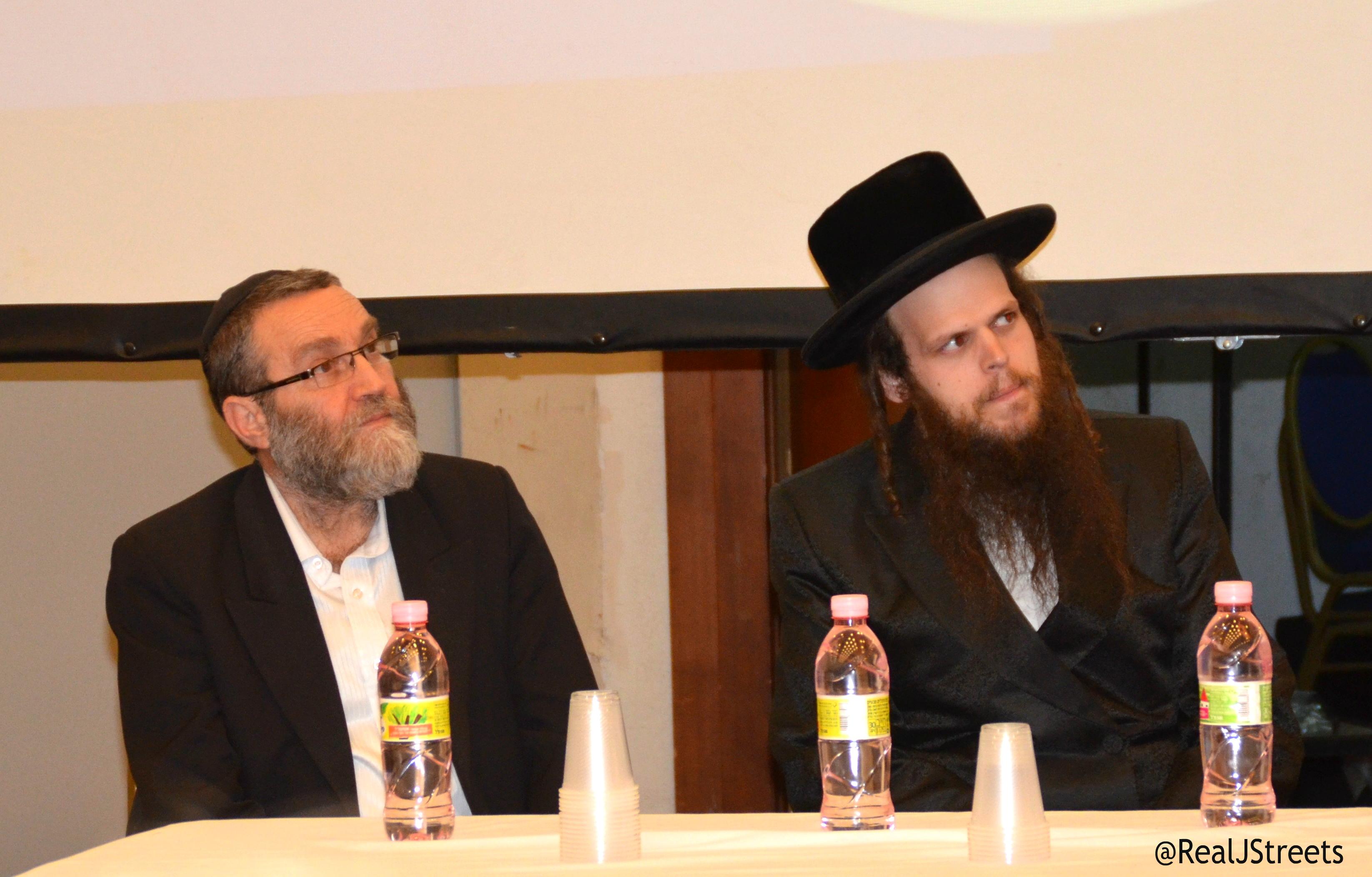 Issamar Ginzberg and Moshe Gafni