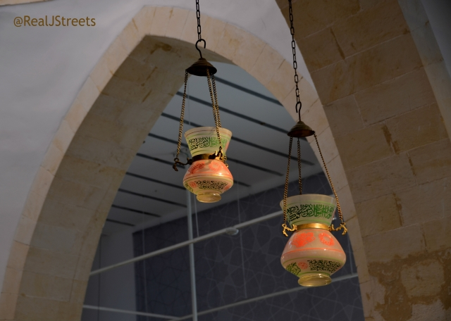 special lamps with Arabic writing