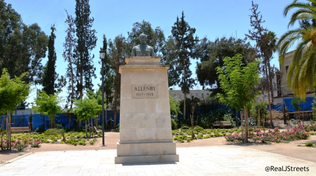 monument to Allenby in Beer Sheva