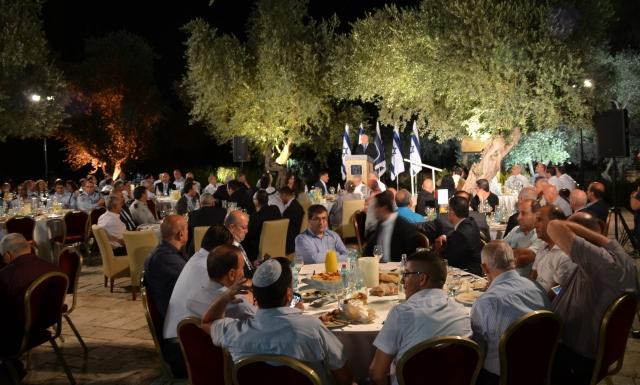Iftar dinner at Beit Hanasi