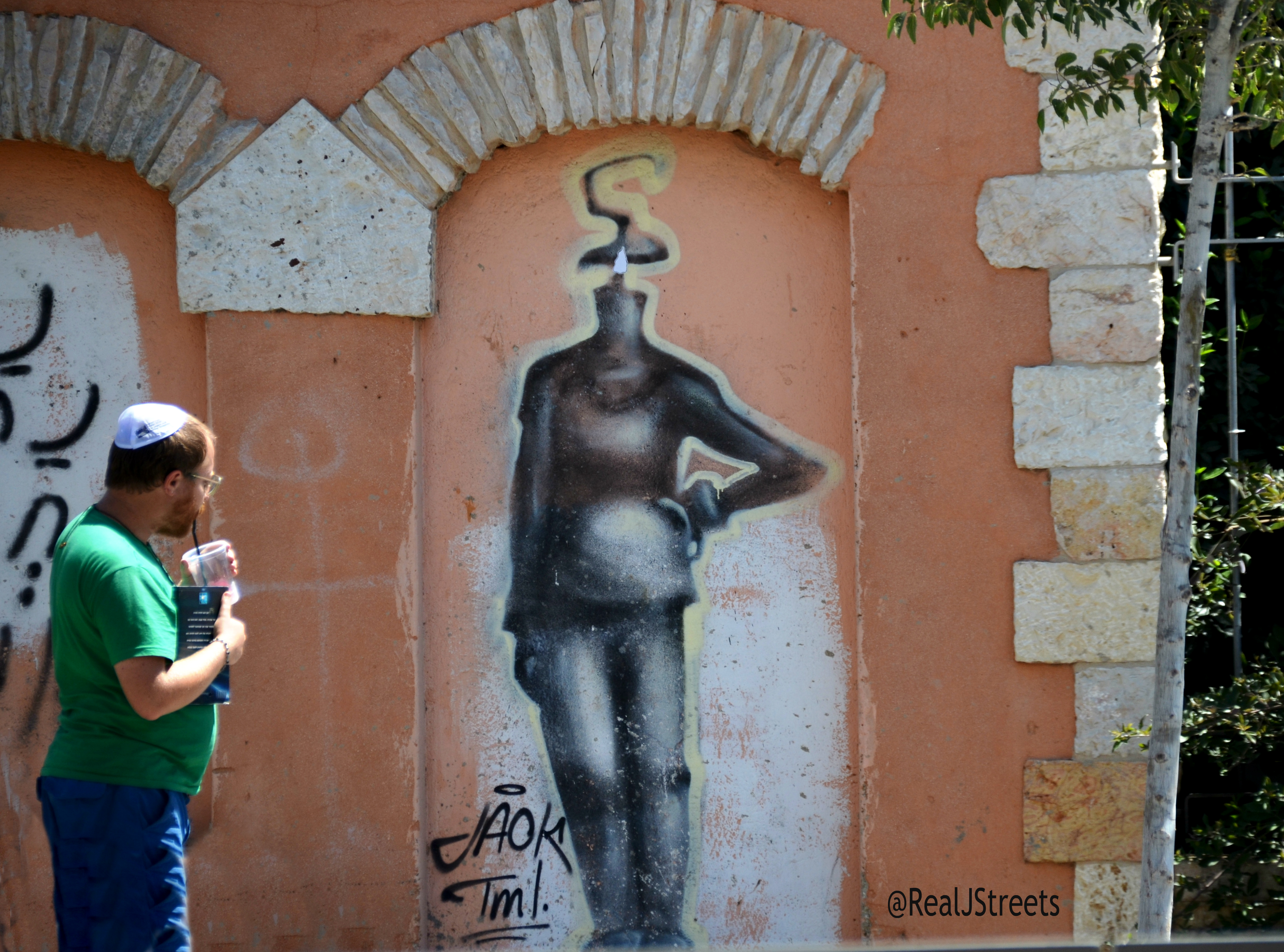 Jerusalem graffiti