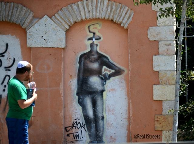 Jerusalem graffiti