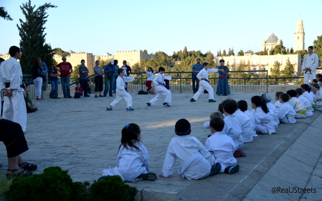 child in karate outfits