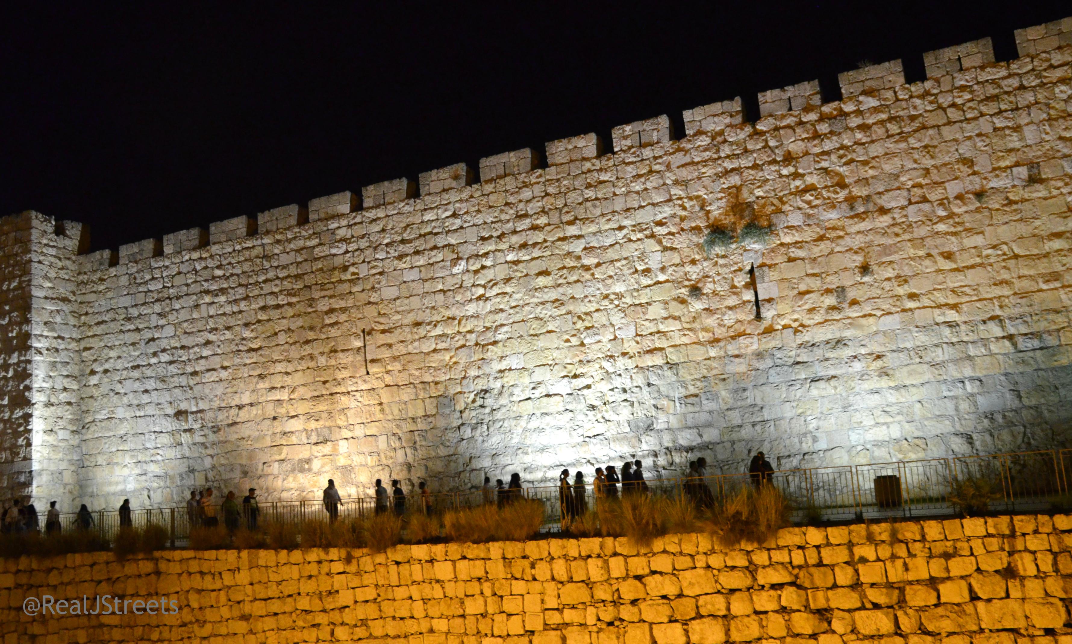 Jerusalem,Israel at night