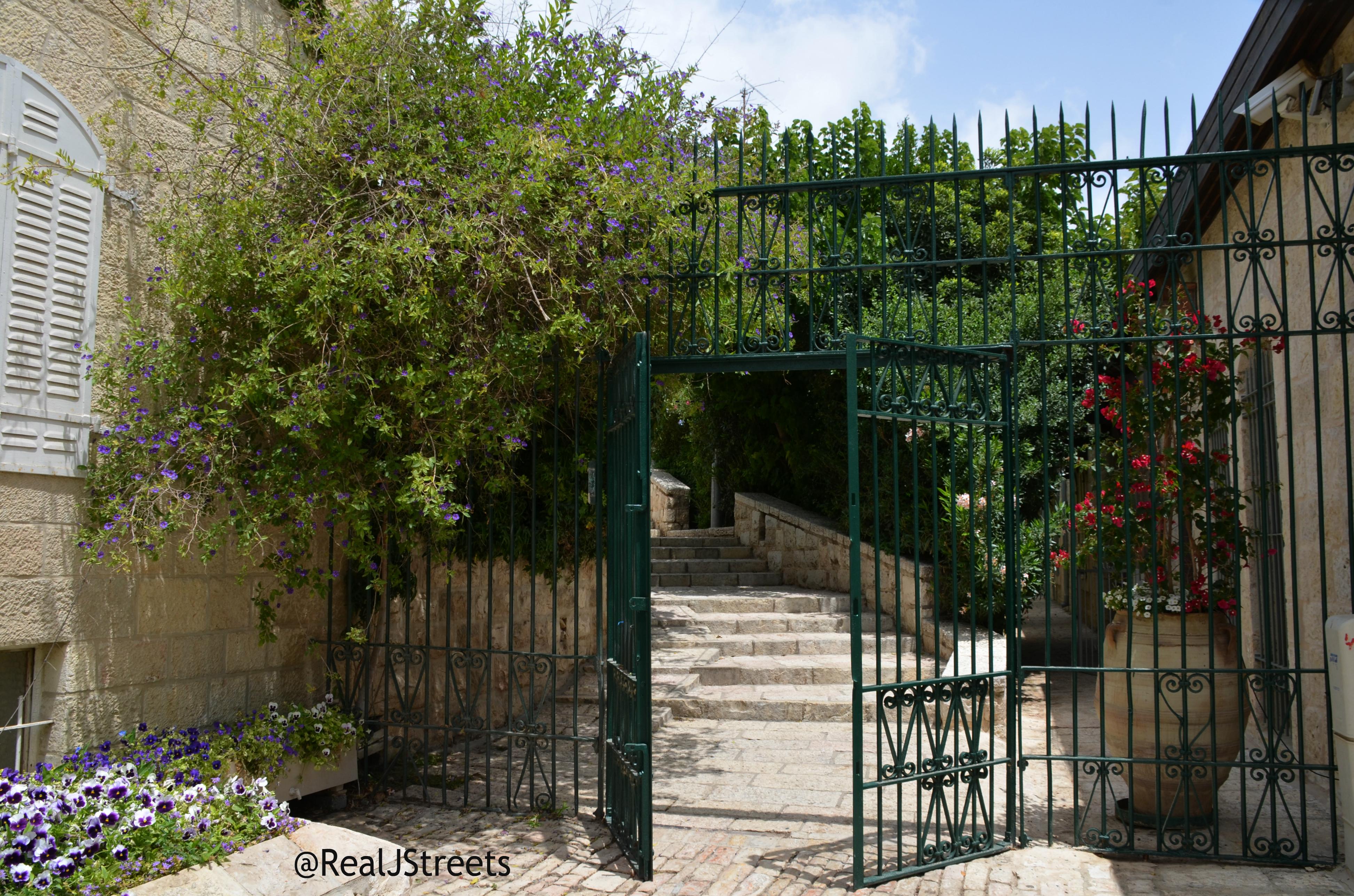 path in Yemin Moshe
