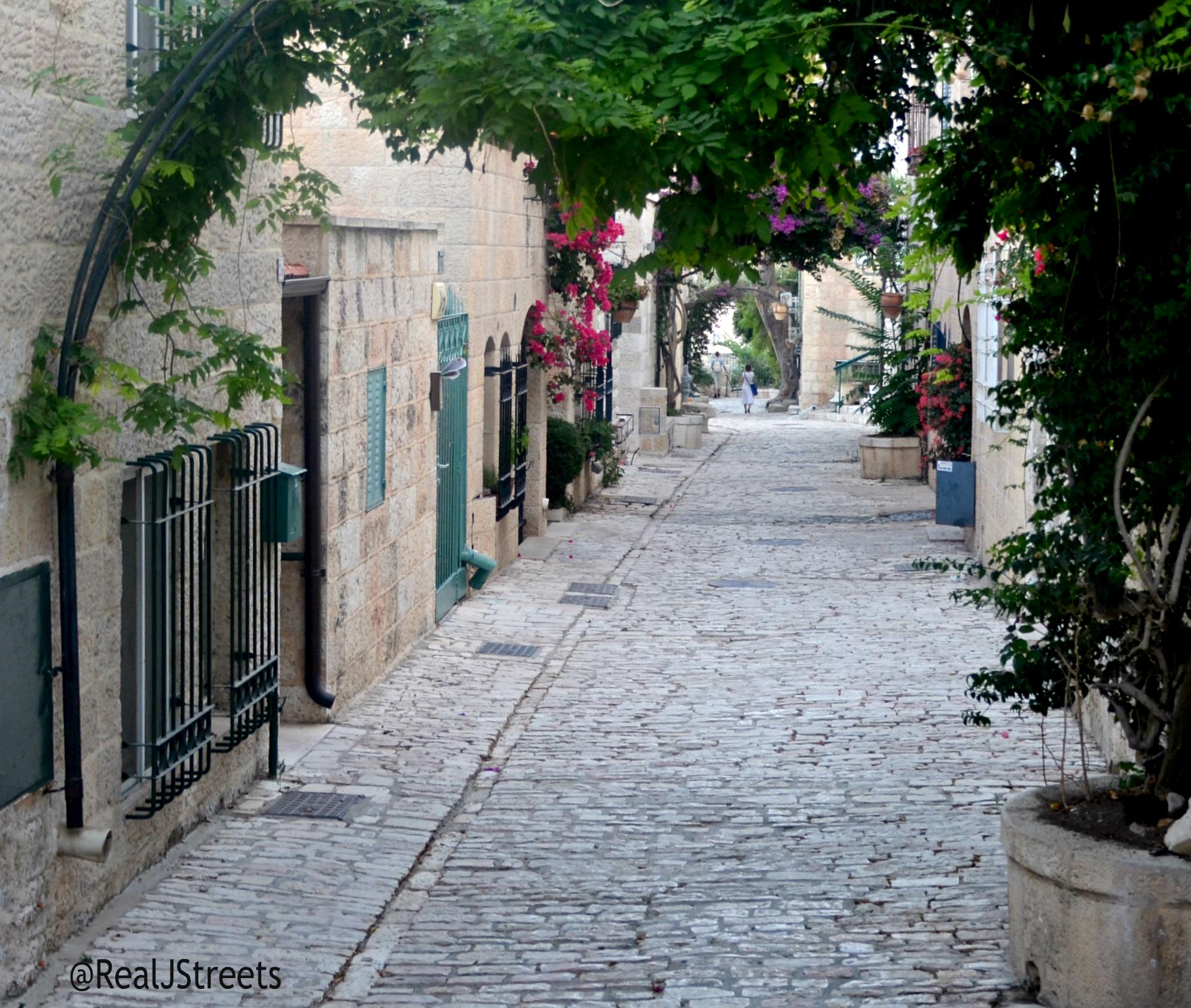 Yemin Moshe street