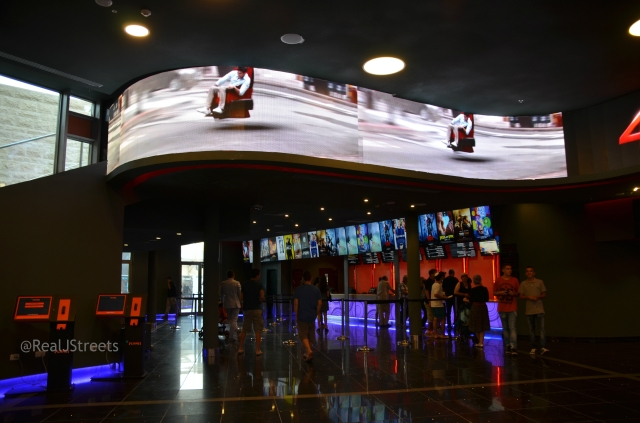 new theater inside