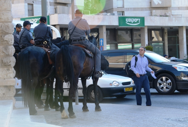 horse and police patrol