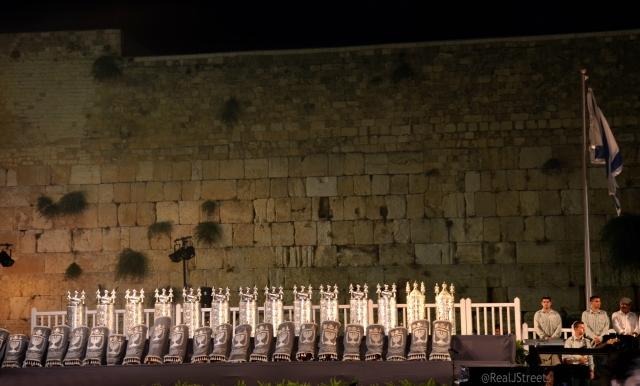torah scrolls at westwern Wall