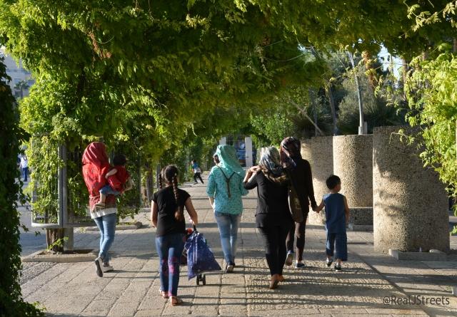 Jerusalem Israel park Palestinians