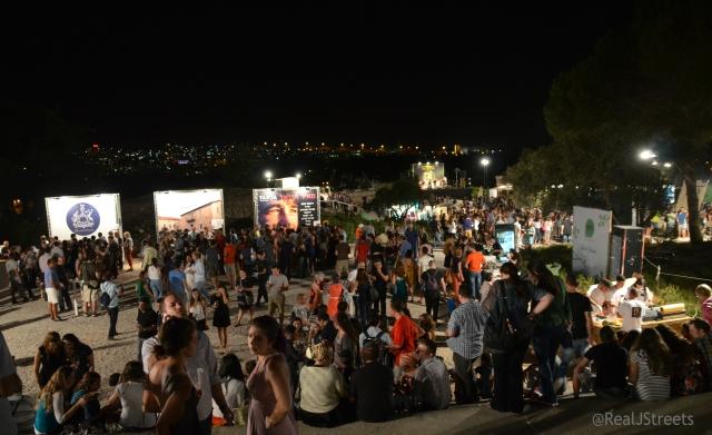 Wine Festival crowd