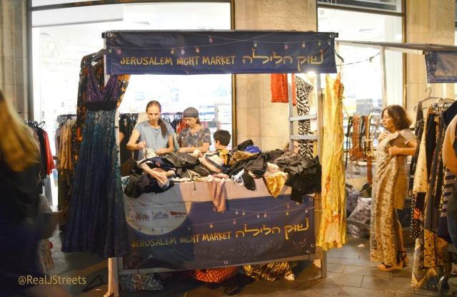 Night Market Jerusalem
