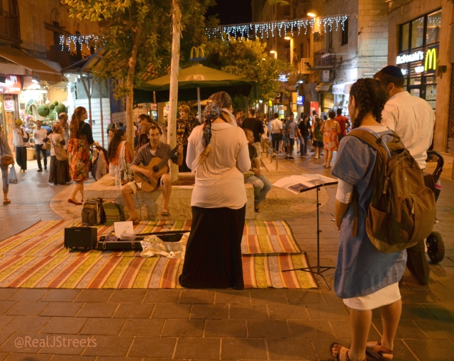 Ben Yehuda Street msuicain