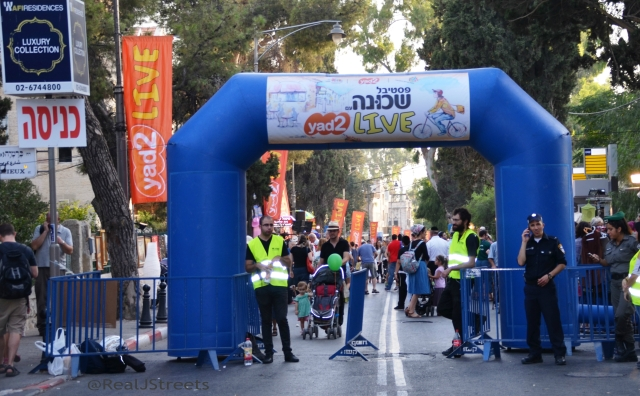Yad2 street fair