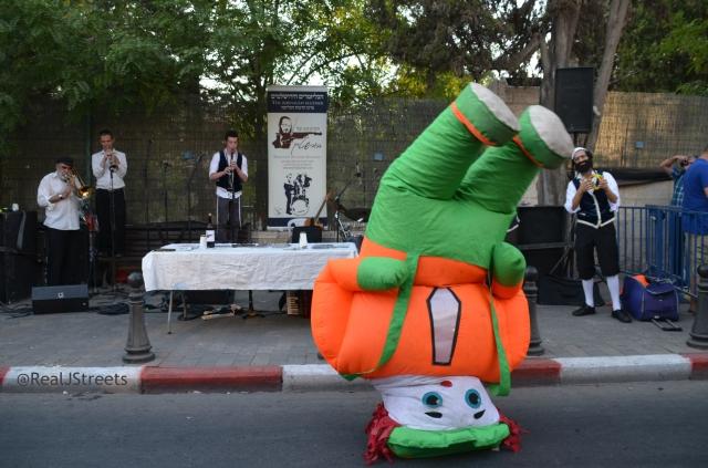 costumed dancer