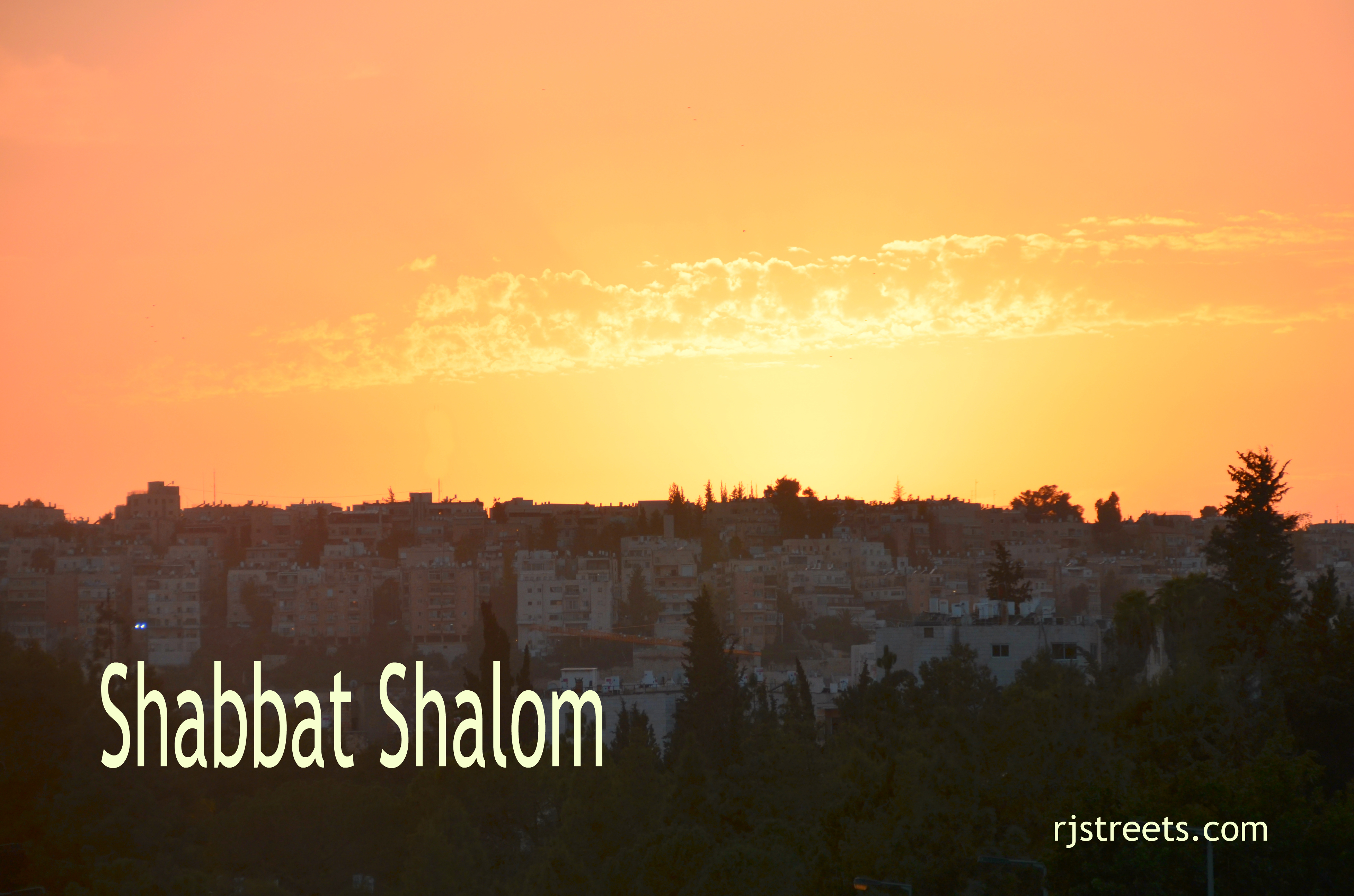 shabat shalom postter