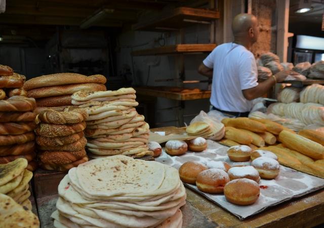 Machane Yehuda market sufganiot for chanukah