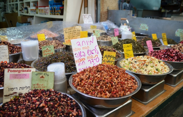 Apple cider mix in shuk