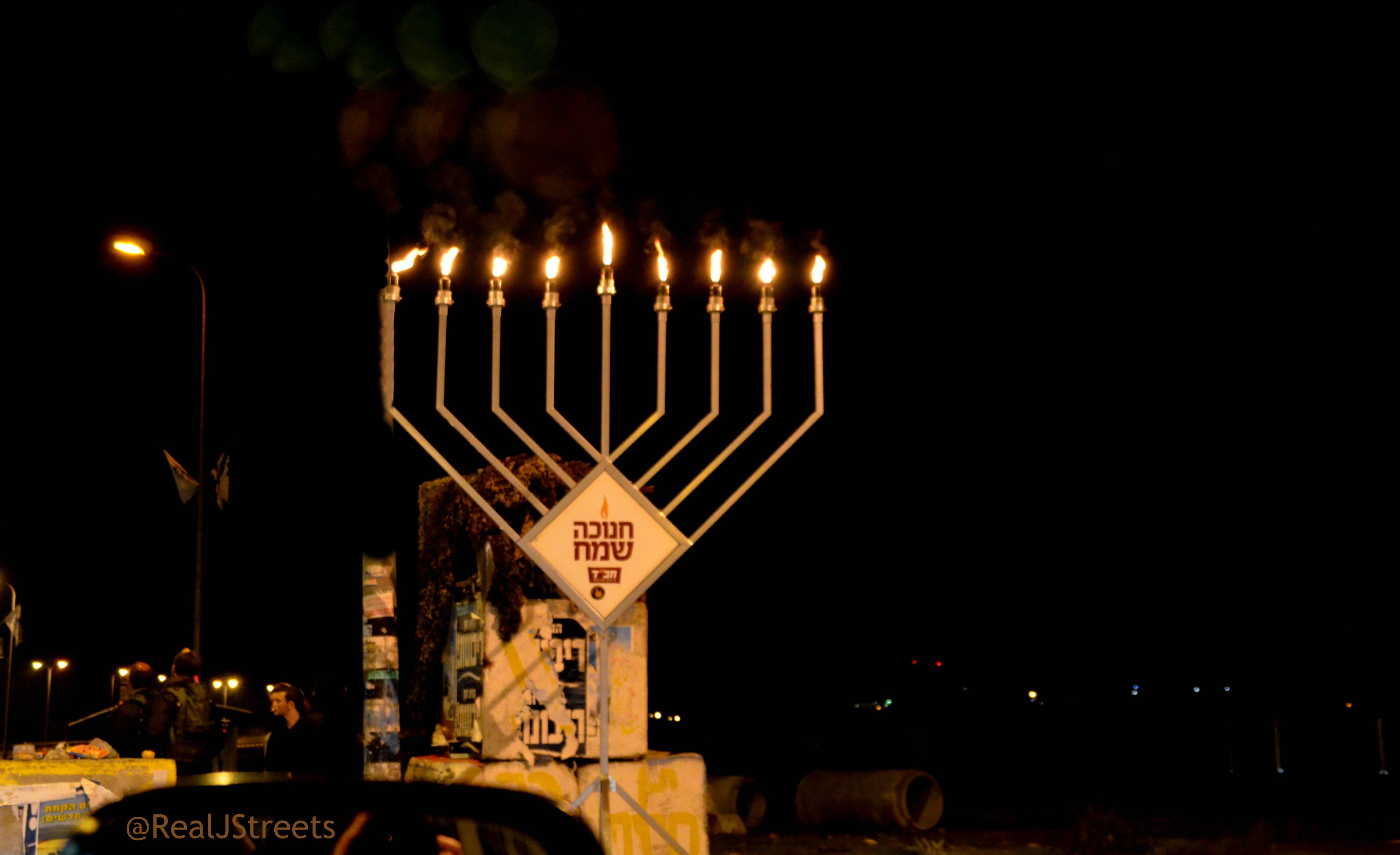 Gush Chabad chanukia