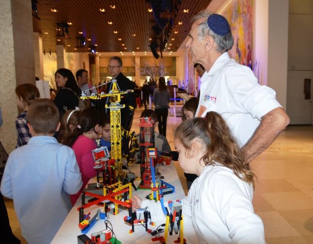 Dr Lego Knesset for Tu B'shavat