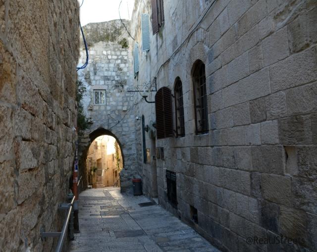 Jewish Quarter street empty