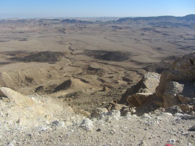 Timma desert Raomn crater