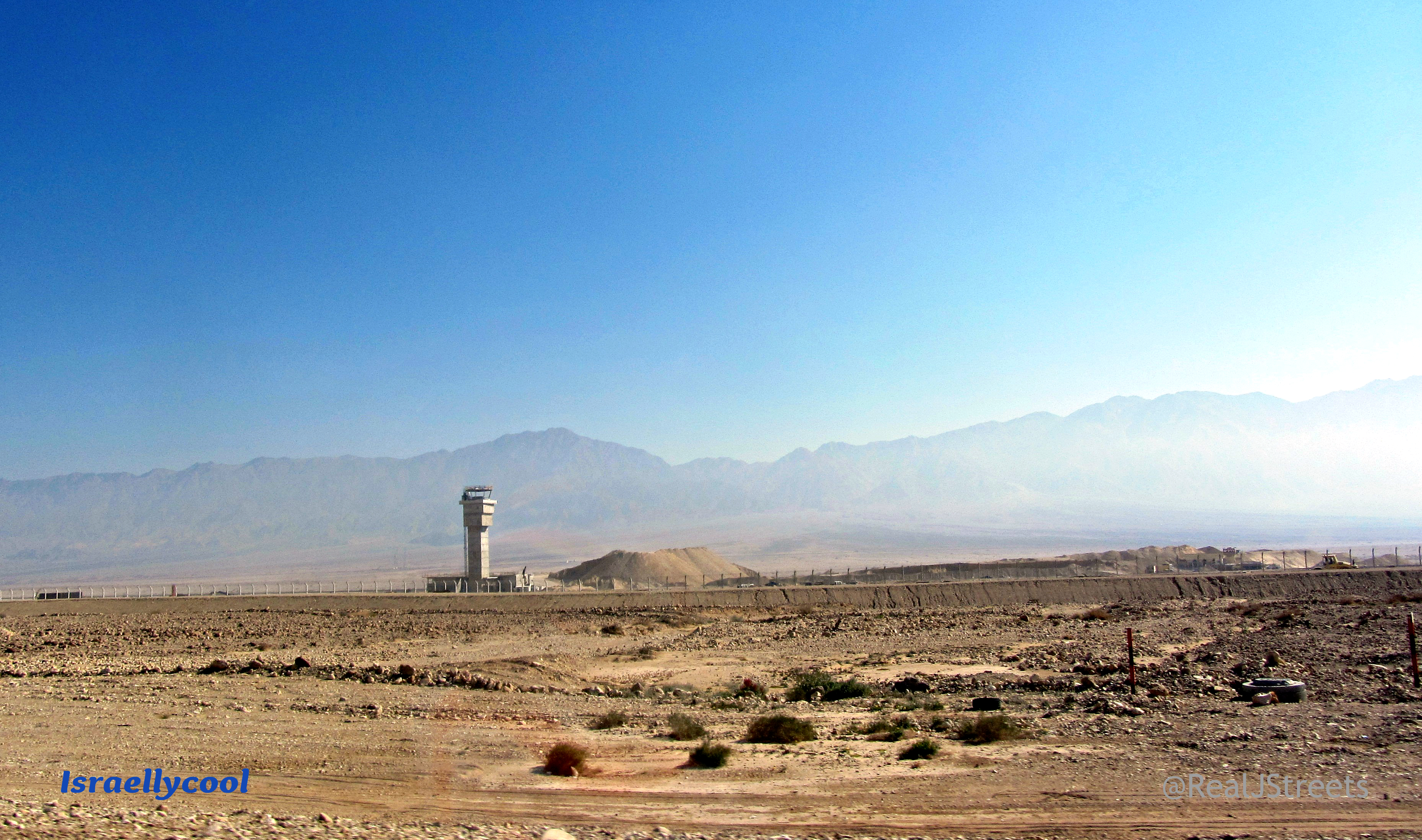 new Ramon Airport near Eilat