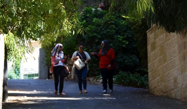 Muslim girls in israel