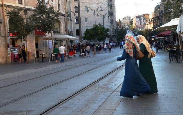 Two Arab women in Jerusalem