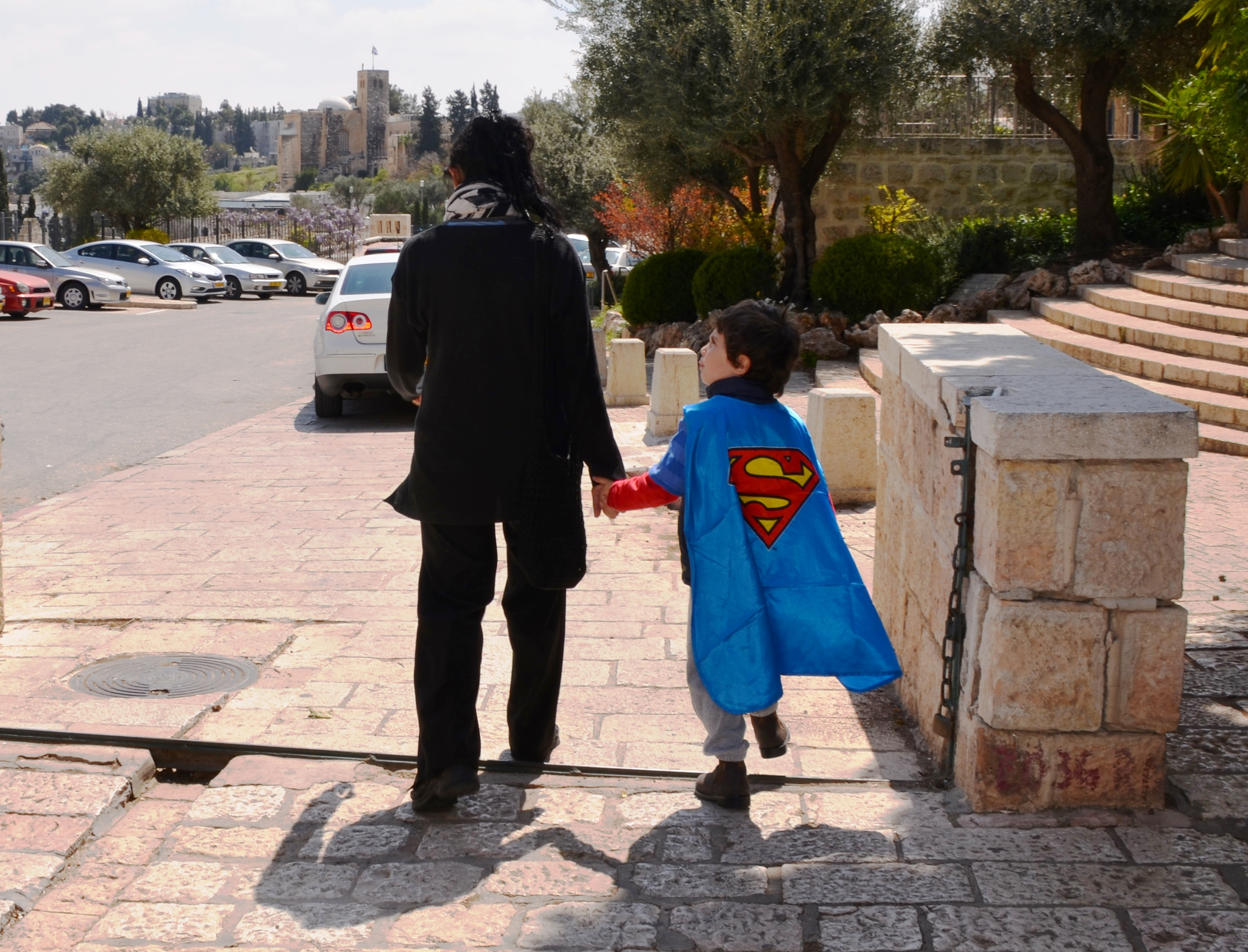 Superman on Purim