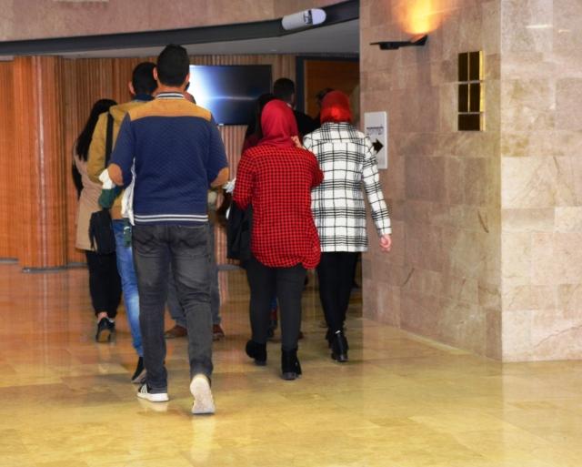 Arab girls in Knesset