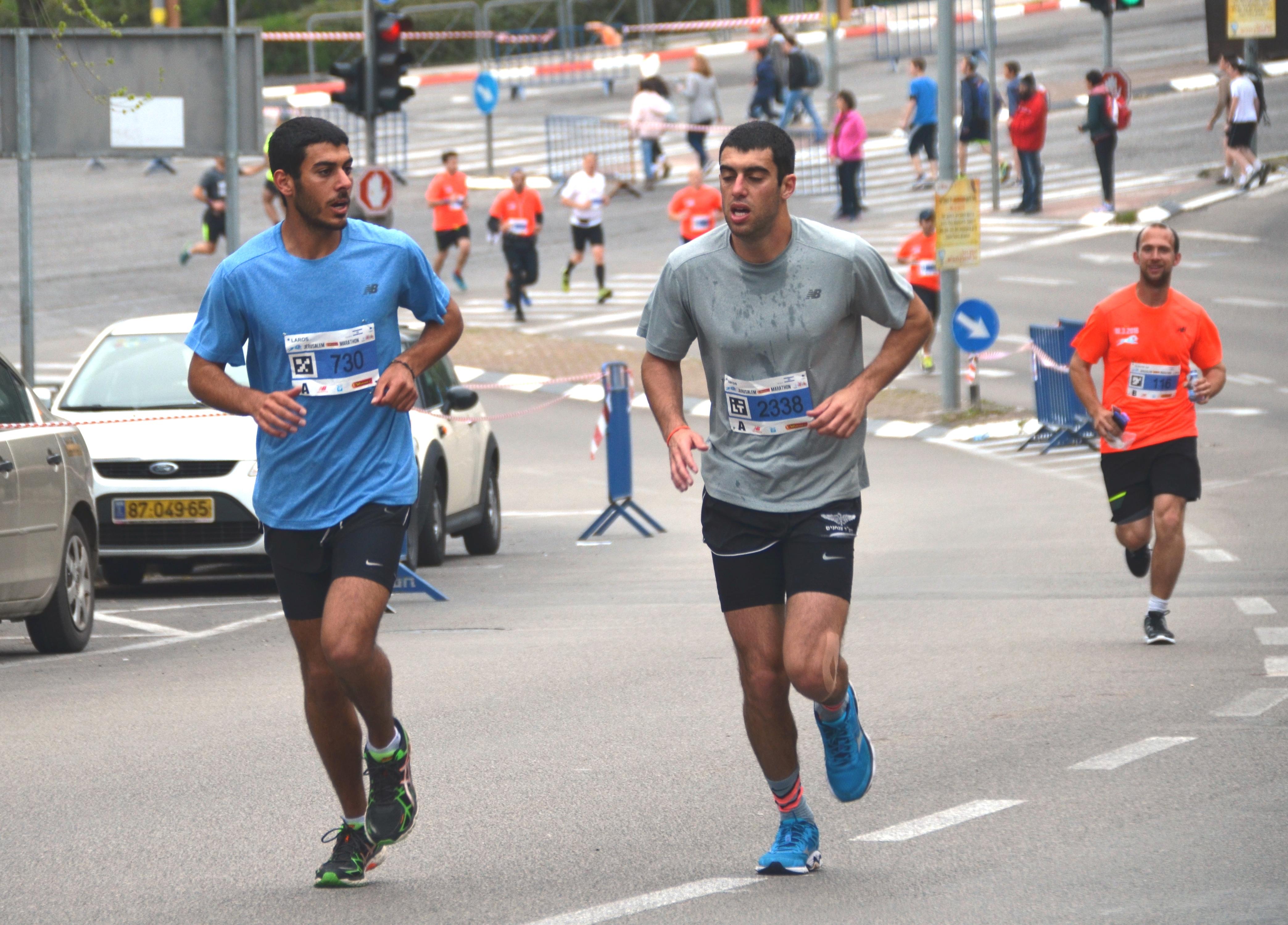 runners marathon Jerusalem