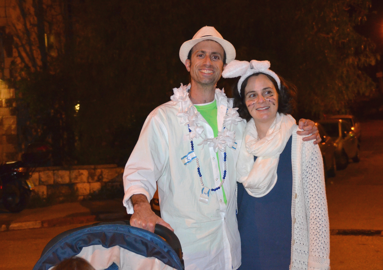 Zev Stub out Purim night