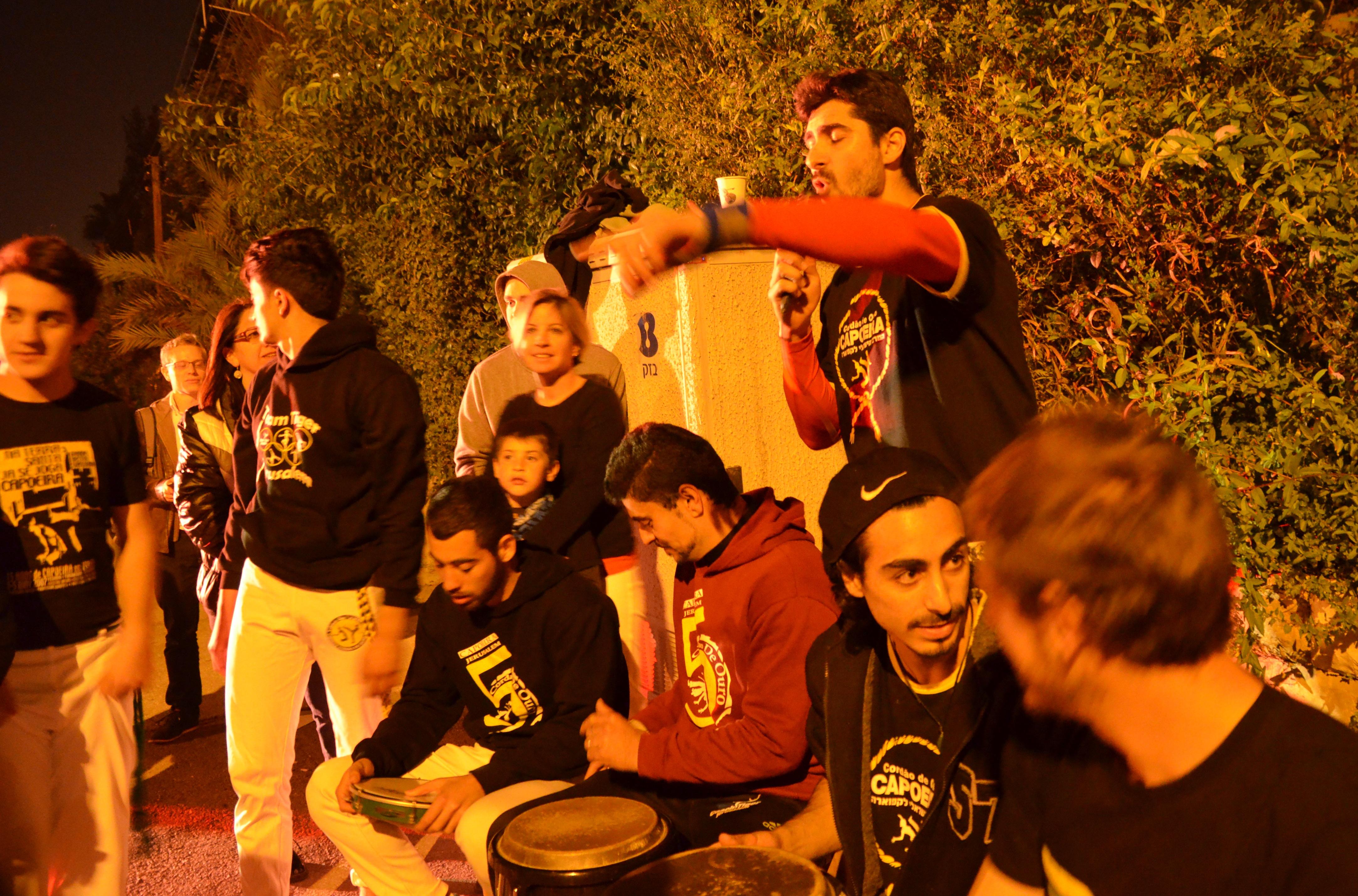 capoera at Jerusalem Israel festival