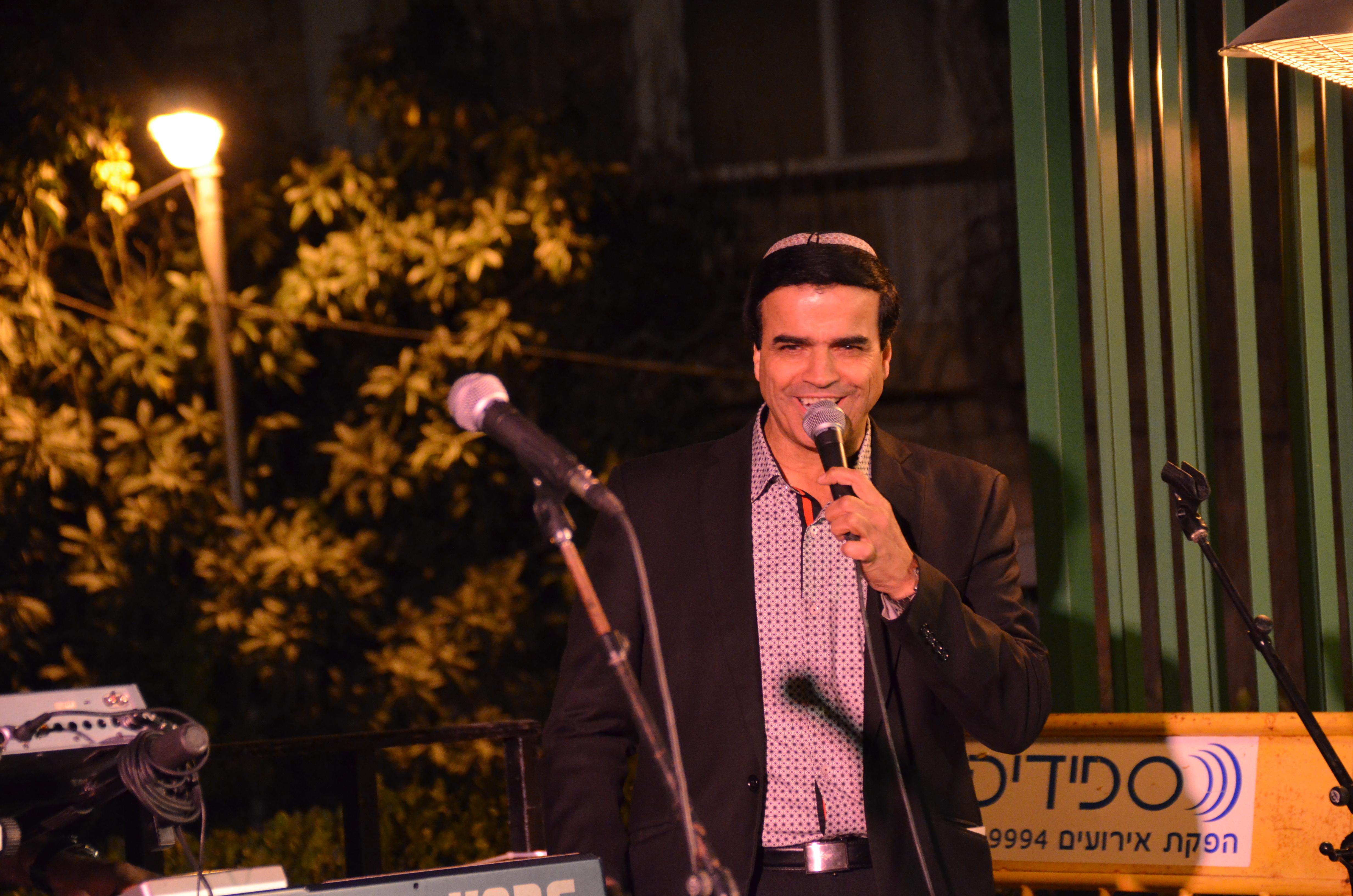 singer Zioin Golan
