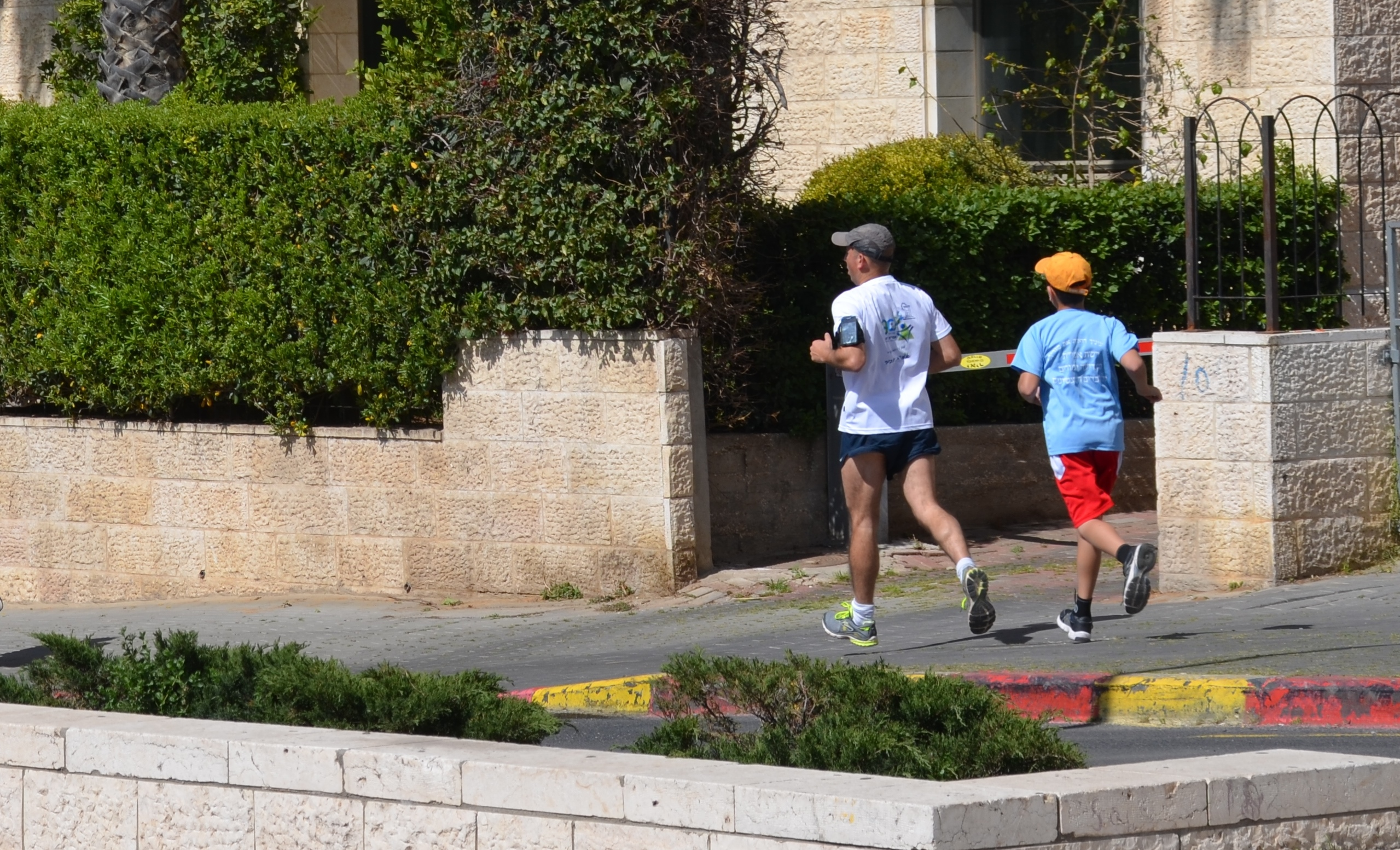 Jerusalem marathon training