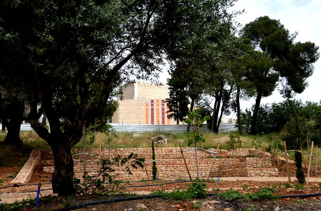 new planting park Jerusalem Israel